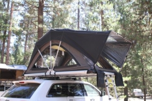 Freespirit Recreation High Country Series 55in Roof Top Tent, Olive/Black (Part Number: )