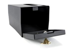Bestop Center Console Storage Lock Box - JK 2011+