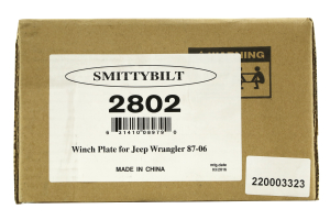 Smittybilt Winch Plate II (Part Number: )