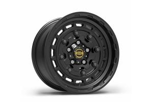 Warn Jackhammer Wheel, 17x8.5, 5x5 - Black - JT/JL/JK