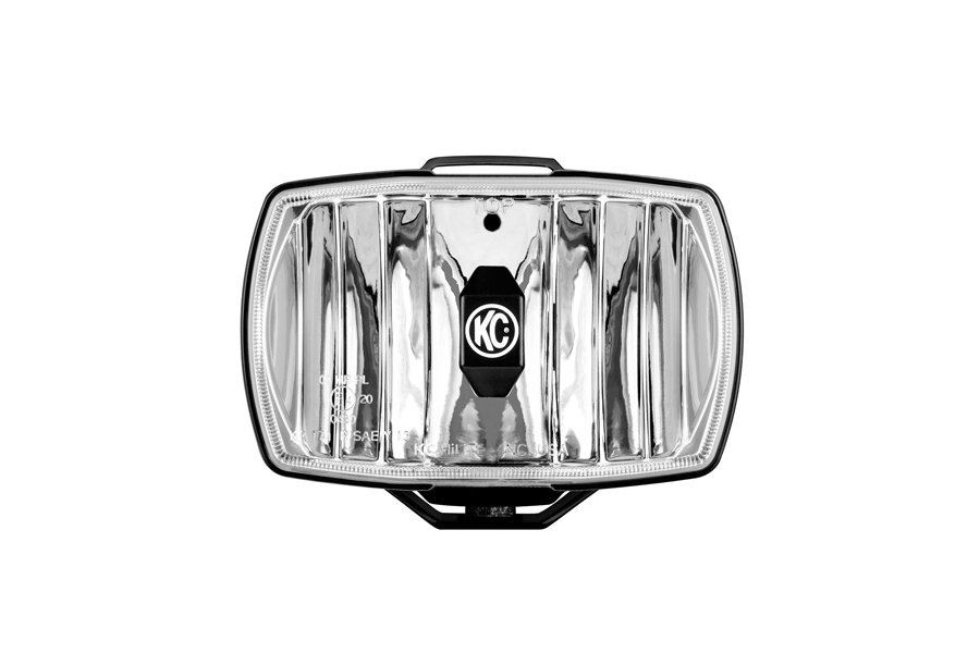 KC HiLites 4inx6in Gravity LED Driving Light Driving Beam Street Legal (Part Number:1711)