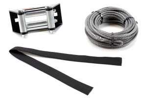 Warn Synthetic Rope Replacement Kit 3/16in X 50ft (Part Number: )