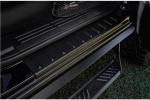 Bushwacker Truck Trail Armor Rocker Panels - Ford Bronco 4Dr