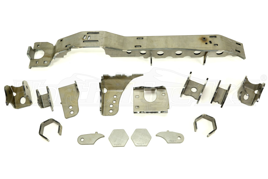 Artec Industries JK 1 TON - SUPERDUTY 05+ Front Dana 60 Swap Kit - w/ Adjustable Truss Upper Link Mount - Single (Part Number:JK6043)