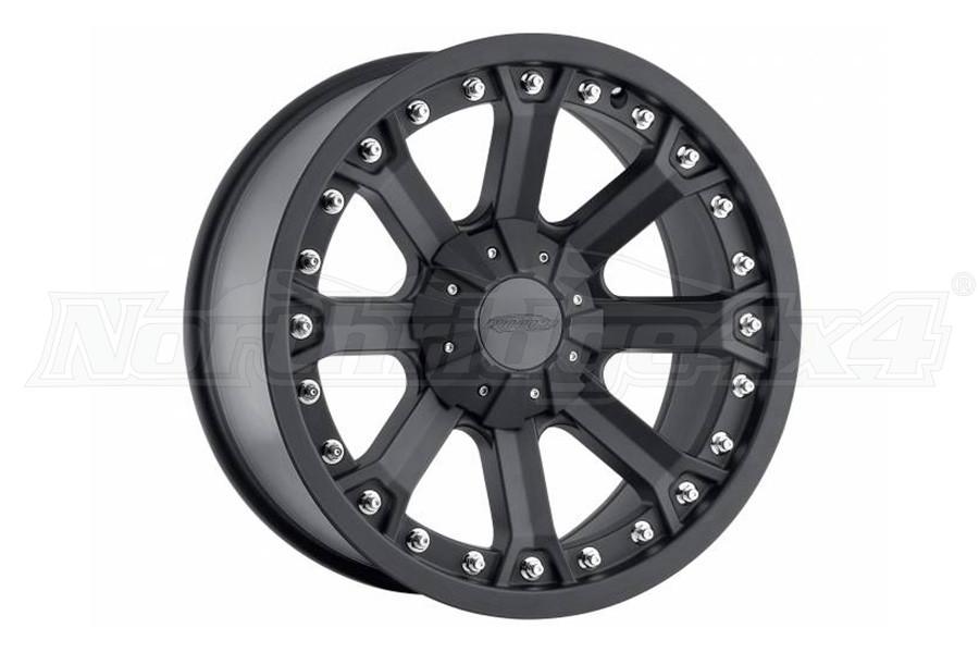 Pro Comp Xtreme Alloys Series 5001 Black Wheels 17x9 5x5 (Part Number:7033-8973)