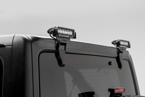 T-REX ZROADZ Rear Window Mounting Bracket Kit w/two 6in LED Lights and Wire Harness  (Part Number: )