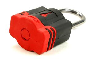 Bolt Padlock Black/Red (Part Number: )