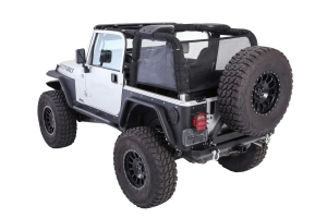 Smittybilt Cloak Extended Mesh Sides and Rear (Part Number: )
