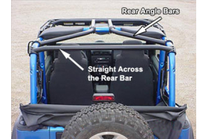 Rock Hard 4x4 Rear Bar - LJ/TJ
