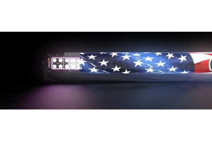 Aerolidz 52in RGB Chasing LED Light Bar Package - Clear