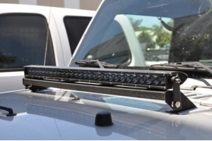 DV8 Offroad LB-3 Hood Light Bar Mount  (Part Number: )