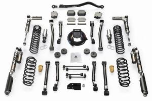 Teraflex 2.5in Alpine RT2 Short Arm Suspension Lift Kit w/ Falcon SP2 3.5 aDAPT Shocks - JL 4Dr