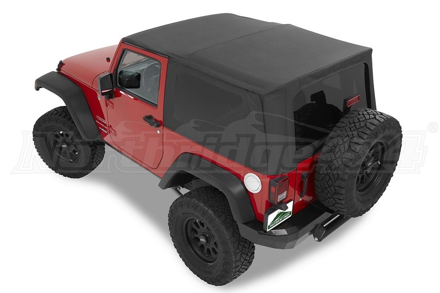 Bestop Replay Top Replacement Soft Top, Black Diamond - JK 2Dr 2010+