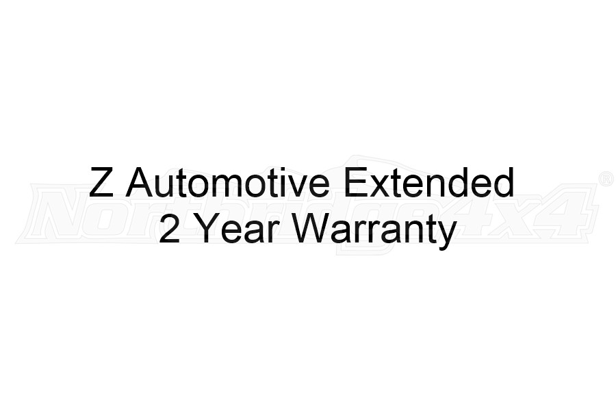 Z Automotive Extended 2 year Warranty