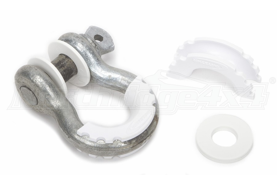 Daystar D-Ring Isolator/Washer Kit - White