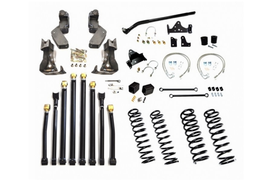 EVO Manufacturing 3in High Clearance Long Arm Lift Kit - JK