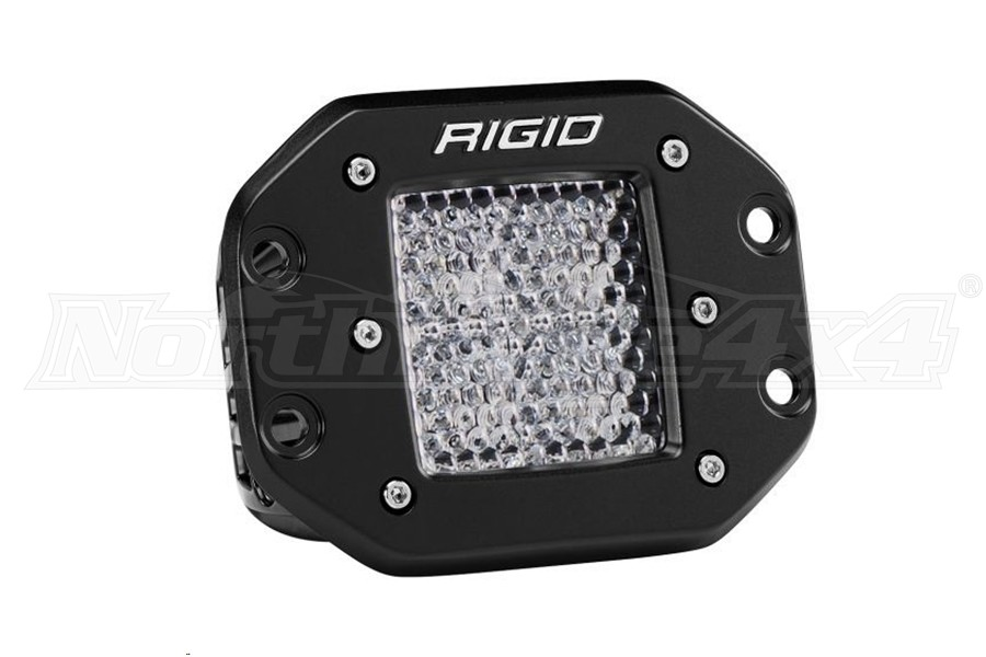 Rigid Industries D-Series Pro Flood Light Flush Mount Diffused (Part Number:211513)
