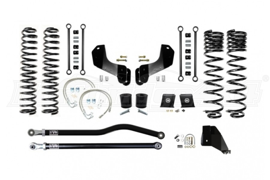 EVO Manufacturing 6.5in Enforcer Overland Lift Kit Stage 1 PLUS - JT