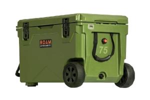 Roam Rolling Rugged Cooler, 75qt - OD Green