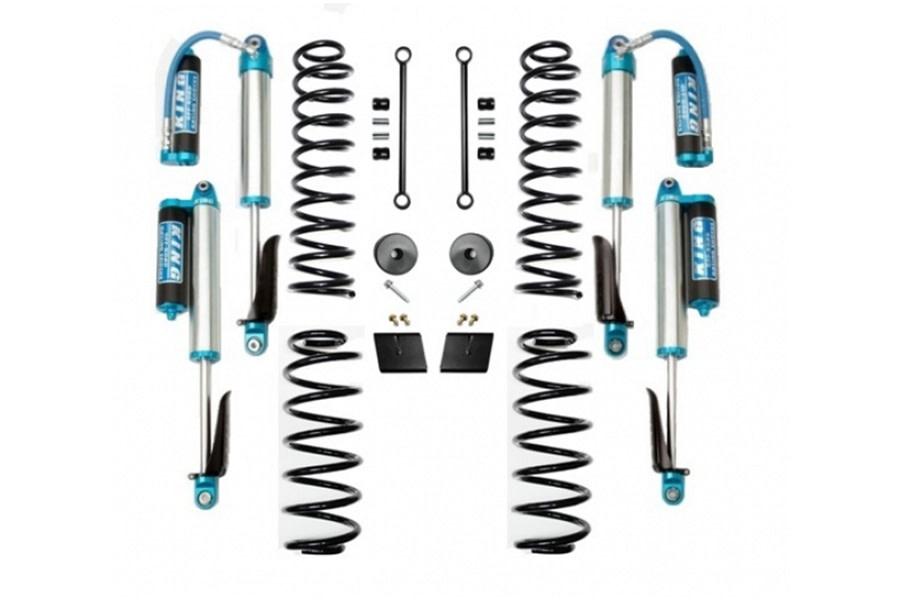 Evo Manufacturing 2.5in Enforcer Stage 1 Lift Kit w/ Comp Adjuster Shocks - JL