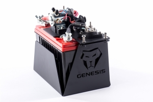 Genesis Offroad Universal Battery Kit w/Smart Isolator