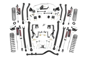 Rough Country 4in Long Arm Lift Kit w/ Vertex Shocks  - JK 2007-11 3.8L