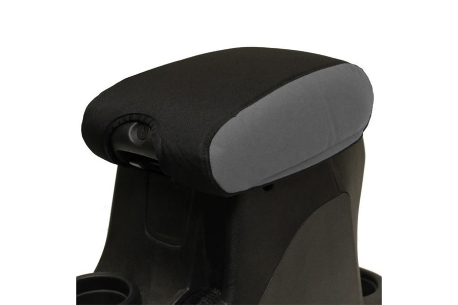 Bartact Padded Center Console Cover - Black/Graphite - JK 2011+