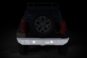 LOD Signature Series Rear Bumper w/Light Provision Bare Steel (Part Number: )