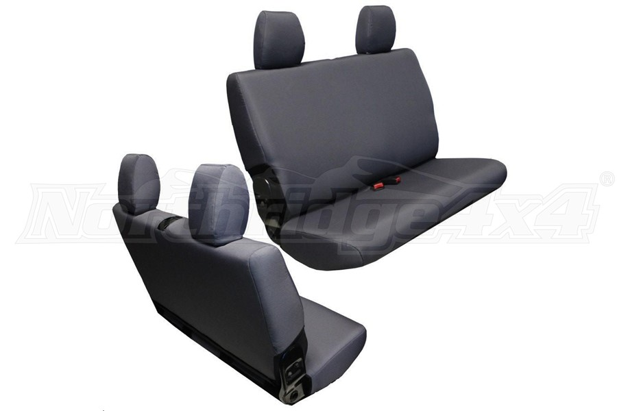 BARTACT Baseline Seat Cover Rear Bench Graphite - JK 2dr 2007-10