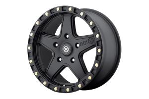 ATX Wheels 194 RAVINE Textured Black 17X8.5 5x4.5 (Part Number: )