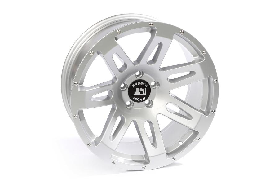 Rugged Ridge XHD Silver Wheel 20x9 5x5 (Part Number:15306.03)