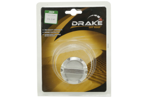 Drake Off Road Brushed Aluminum Oil Cap (Part Number: )