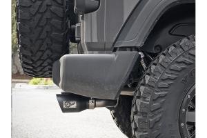 aFe Rebel Series 2.5in Cat-Back Exhaust System w/Black Tips - JL 3.6L