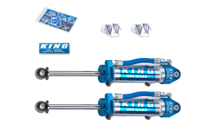 King Shocks 2.5 OEM Performance Series Rear Shocks w/Piggy Back Reservoir 0-2in Lift (Part Number: )