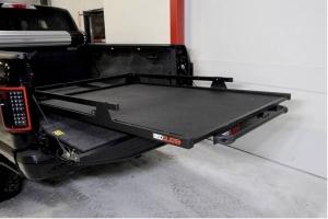 BedSlide 2000 Heavy Duty Cargo Slide System, 95in x 48in - Black - Toyota Tundra 2007+ / Ram 1500/2500/3500 1981+ w/ 8ft Bed