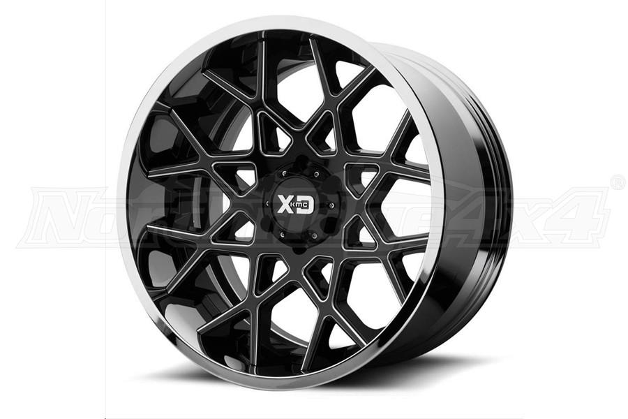 XD Series XD203 Chopstix Series Wheel, 20x10 5x5  - JT/JL/JK