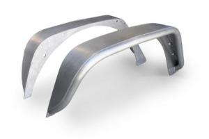 Poison Spyder Standard Width Rear Crusher Flares Aluminum - JK