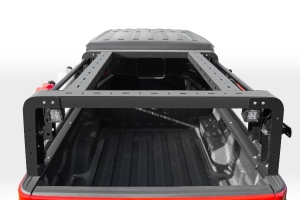 ZROADZ Overland Access Rack W/ Two Lifting Side Gates, For use on Factory Rail   - JT