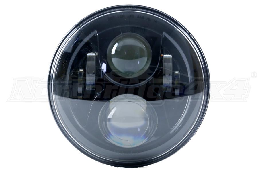 JW Speaker 8 Evolution 8 Headlamp Black, Single