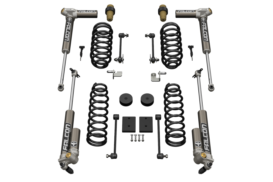 Teraflex 1.5in Sport ST1 Suspension System w/ 3.2 Falcon Shocks (Part Number:1211032)