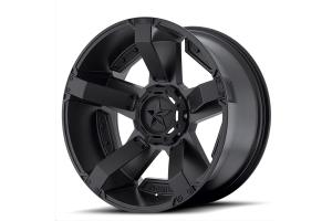 XD series XD811 Rockstar II Non-Beadlock Wheel, Matte Black 20x12 5x5/5x5.5  (Part Number: )