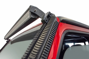 DV8 Offroad Picatinny Rail A-Pillar Light Mount - JT/JL