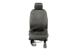 Rugged Ridge E-Ballistic Front Seat Cover Set, Black (Part Number: )