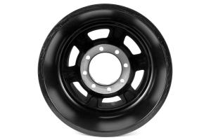 ATX Wheels AX757 Chamber Pro II Beadlock Black Teflon 17x9 8x6.5 ( Part Number: AX75779080624NF)