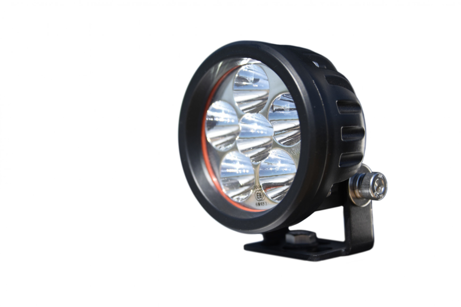 DV8 Offroad Round 3.5in LED Light Spot Beam (Part Number:R3.5E16W3W)