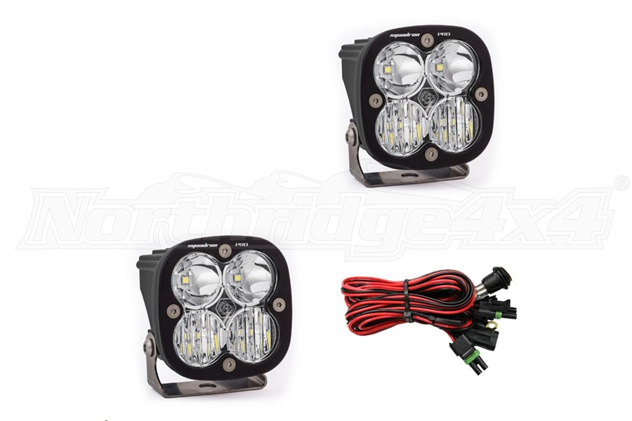 Baja Designs Squadron Pro LED Driving/Combo Lights, Pair (Part Number:497803)