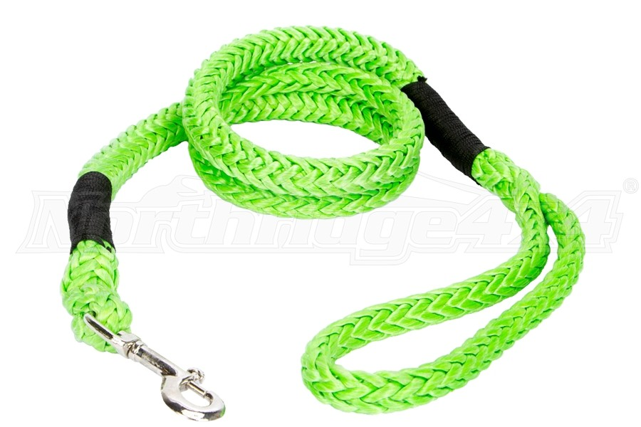 VooDoo Offroad Pet Leash w/ Loop and Clasp End, 0.5in x 6ft - Green
