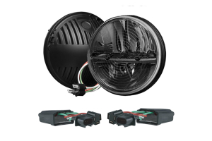 Rigid Industries 7in Round LED Heated Headlight Kit ( Part Number: 55004)