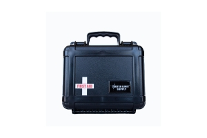 Outer Limit Supply Waterproof Individual First Aid Kit - Black