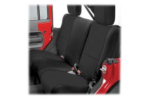 Rugged Ridge Rear Seat Cover Black/Black - JK